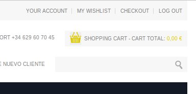 You can view items added to your shopping cart or confirm it and proceed to payment